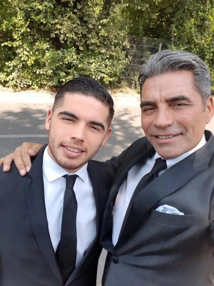Marcel Toader și băiatul lui