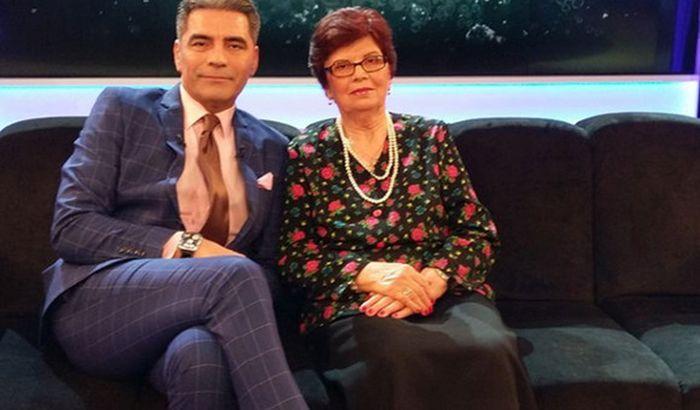 Marcel Toader și mama lui