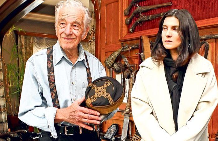 Sergiu Nicolaescu și soția cu 46 de ani mai tânără, Dana