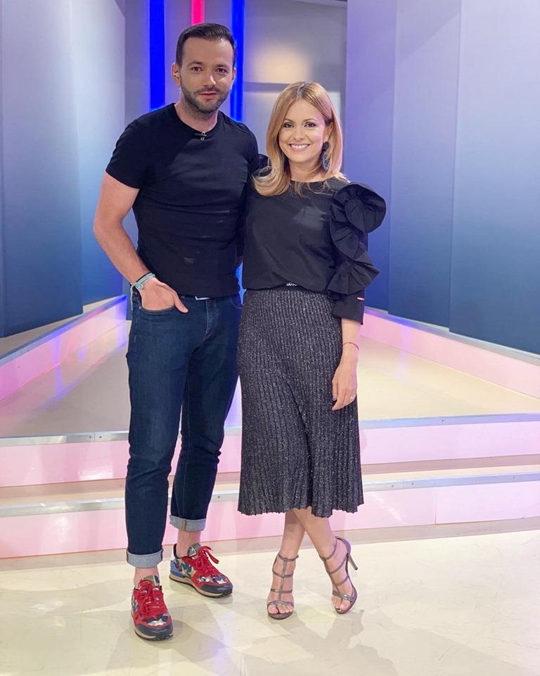 Simona Gherghe și MIhai Morar
