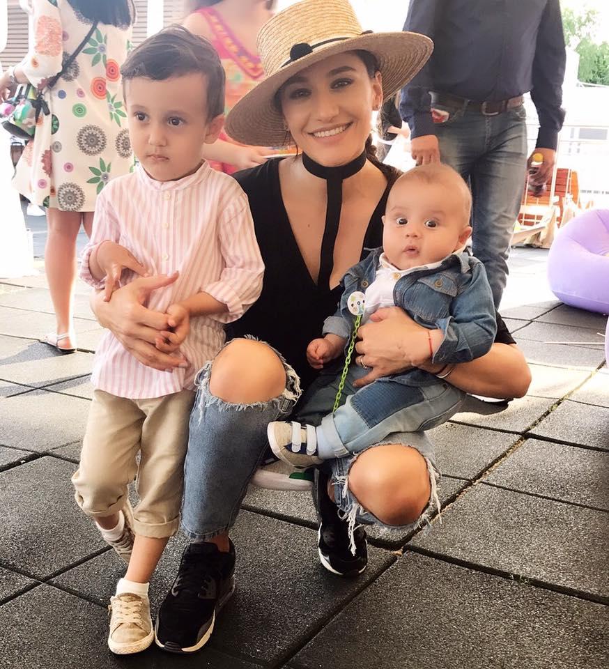 Claudia Pătrăşcanu divorţează de Gabi Bădălău, la trei ani de la nuntă. Cei doi au împreună doi băieţi