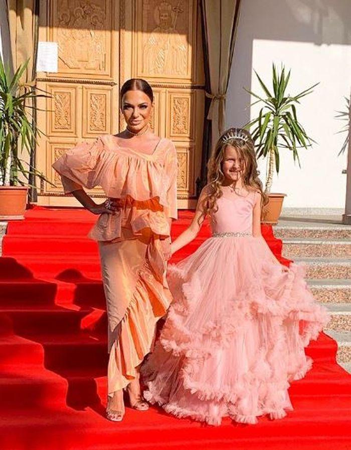 Andreea Antonescu si Sienna, la nunta Andreei Balan cu George Burcea