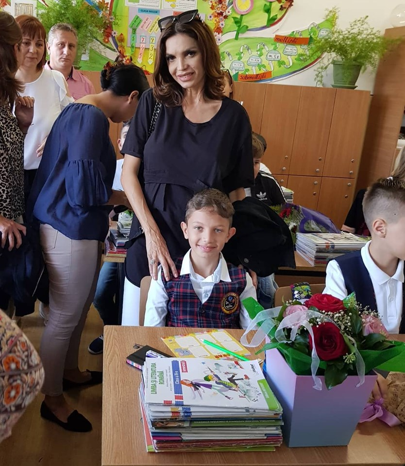 Cristina Spatar si copiii 3