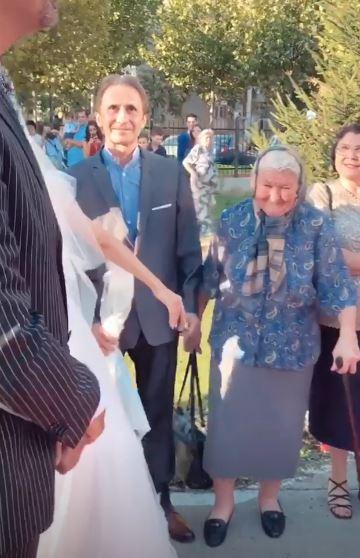 Tatăl Andreei Bălan și bunica ei