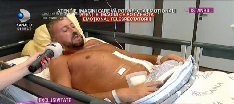 Cătălin Botezatu a fost operat în Turcia
