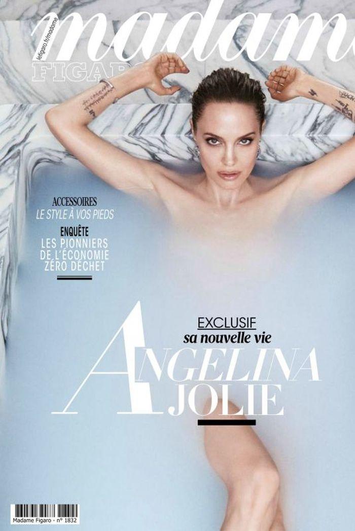 Angelina Jolie, pe coperta Madame Figaro