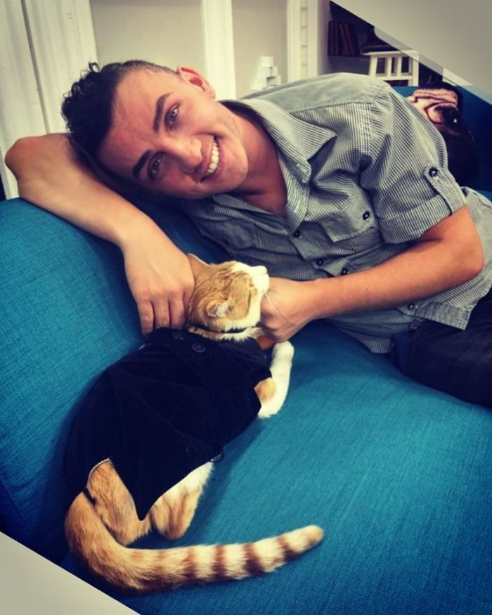 Mihai Trăistariu are mai multe pisici