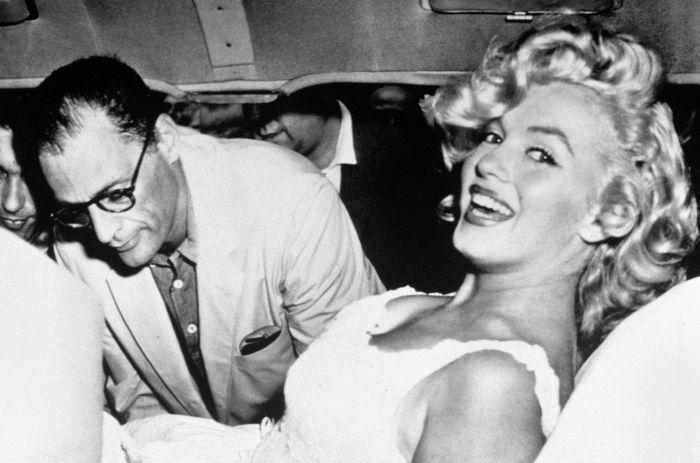 Arthur Miller și ultimul ei soț, Arthur Miller