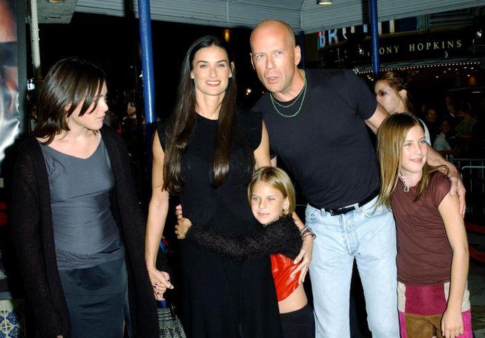 Demi Moore a fost căsătorită cu Bruce Willis şi au împreună 3 copii