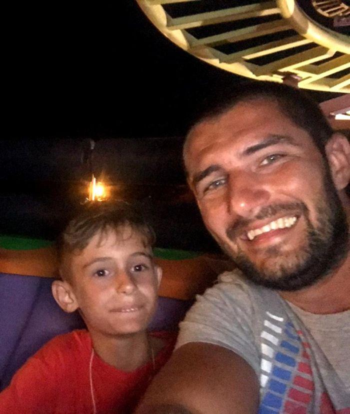 Cătălin Cazacu și fiul lui