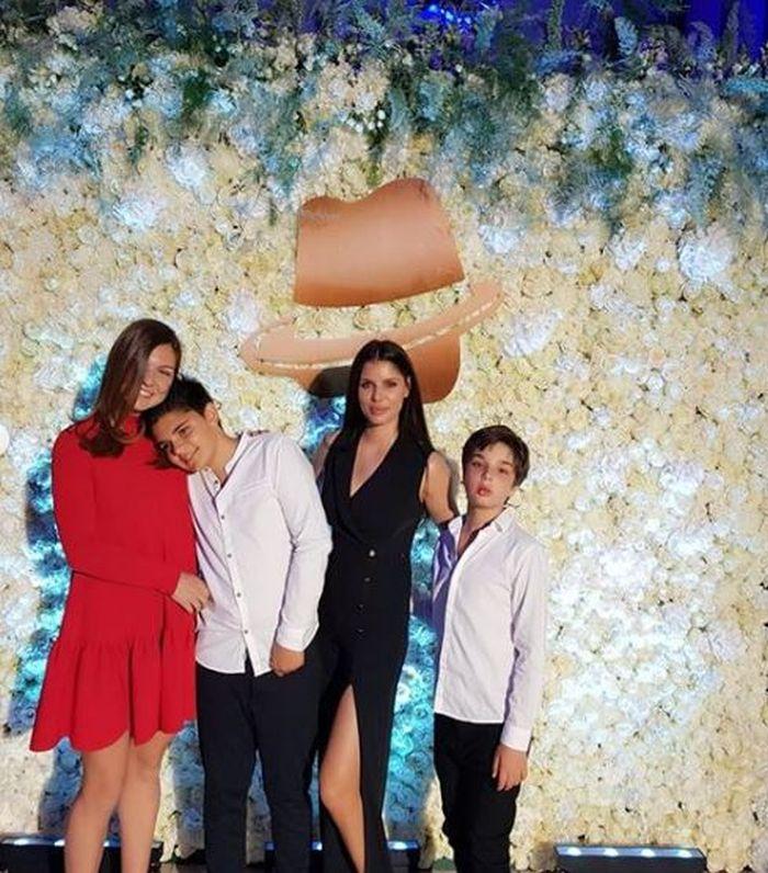Simona Halep, Ileana Lazariuc și cei doi băieți ai săi