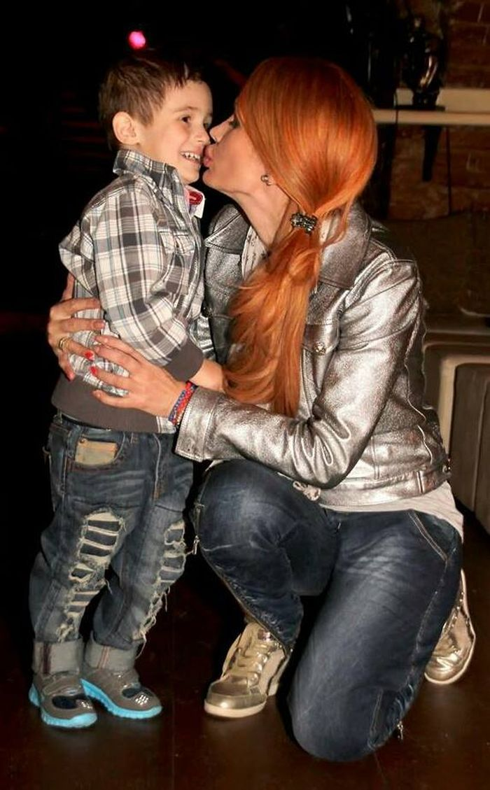 Nicoleta Delinescu și băiatul lui Cătălin Cazacu