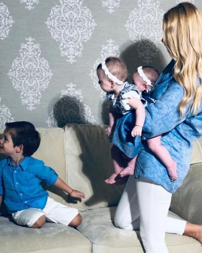 Valentina Pelinel și copiii