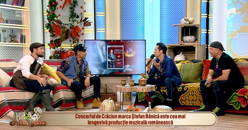Ştefan Bănică a fost la matinalul de la Antena 1