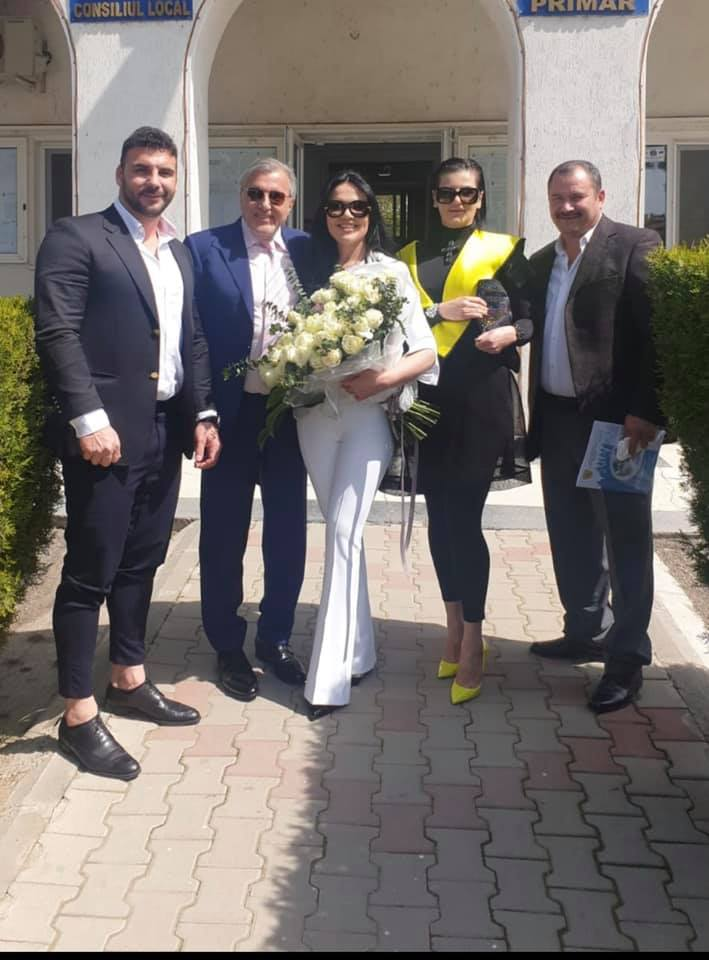 Ioana Simion şi Ilie Năstase s-au căsătorit în vară
