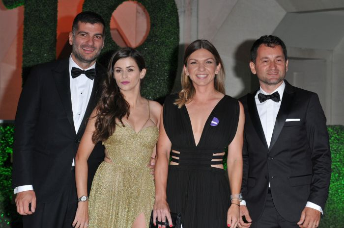 Prima fotografie în care Toni Iuruc (stânga) apare alături de Simona.
