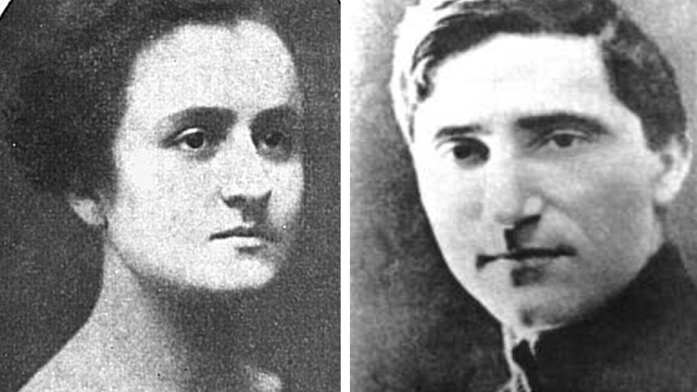 Otilia Cazimir și George Topîrceanu