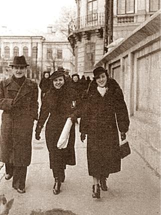 George Topîrceanu, Veronica Gorgos și Otilia Cazimir