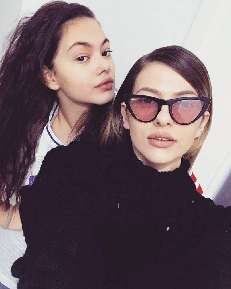 Lidia Buble și sora ei, Lorena