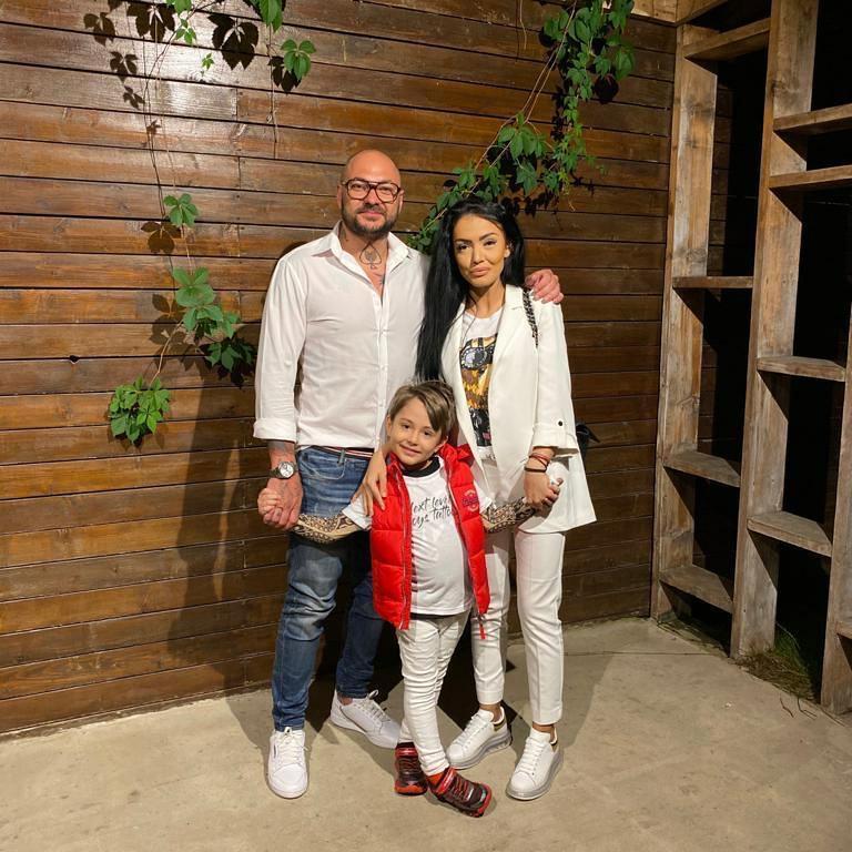Andreea Mantea și Cristi Mitrea, împreună de ziua de ziua lui! David, fiul  lor, este în culmea fericirii