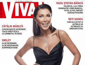 Ilinca Vandici, pe coperta VIVA! de Martie. Totul despre familie, suferințe ascunse și bullying