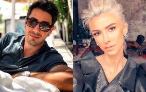 Andreea Bălan și Tiberiu Argint, primul sărut în public. Cum au fost surprinși la o terasă în Capitală