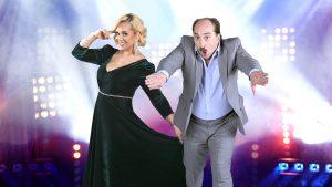 Paula Chirilă și Romică Țociu, coprezentatori la emisiunea Splash! Vedete la apă de pe Antena 1