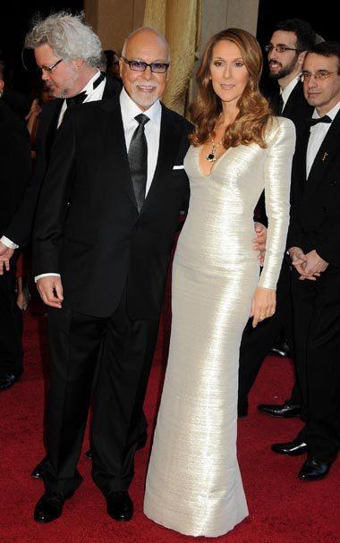 Céline Dion alături de cel despre care spune că a fost singurul bărbat din viața ei - René Angélil.