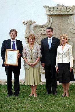 Principesa Margareta, Principele Radu, Pusa, Andrew Hack