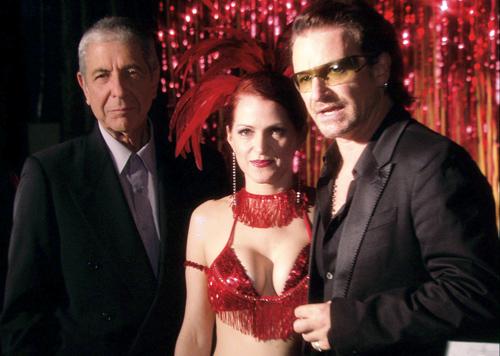 Leonard Cohen, Bono