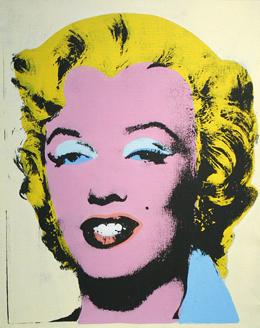 Marlyn Monroe by Andy Warhol
