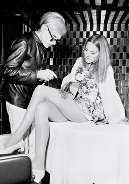 Andy Warhol, Leigh Taylor Young