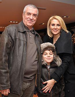 Calin Popescu Tariceanu, Ioana Tariceanu, Mihai Tariceanu