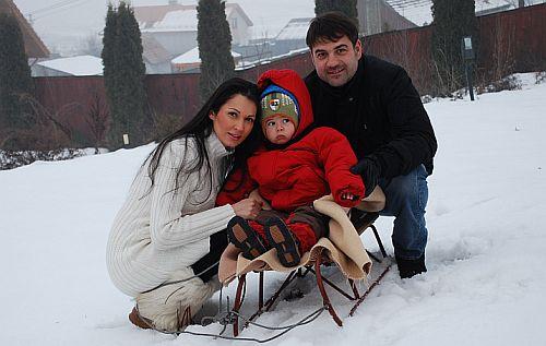 Nicoleta Luciu, Zsolt Csergo, Zsolt Jr