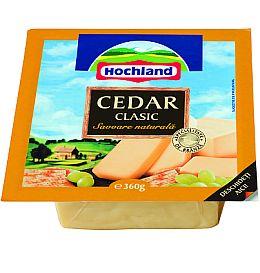 Cedar, Hochland