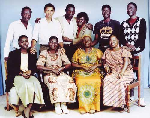 familia lui Barack Obama