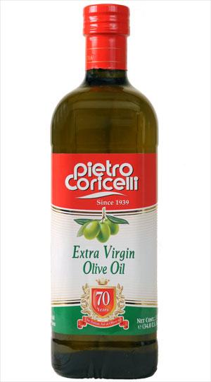 Uleiul de masline extra virgin Pietro Coricelli