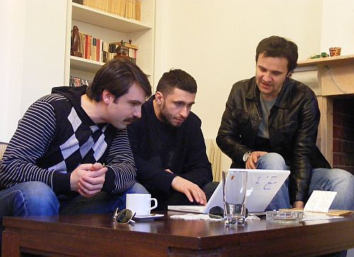 Alexandru Papadopol, Dragos Bucur, Dorian Boguta