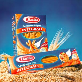 Barilla - placerea pastelor autentic italiene