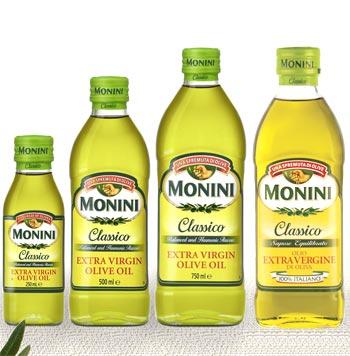 Uleiul de masline extravirgin Monini Classico