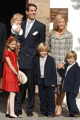 Pavlos, Marie Chantal, copii