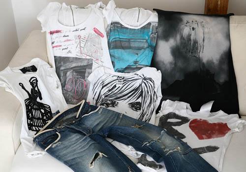 tricouri, blugi