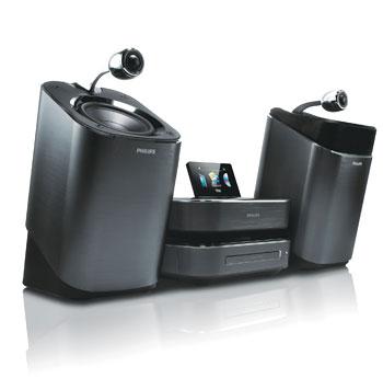 Philips lanseaza noua gama de microsisteme DVD Hi-Fi,  cu boxe SoundSphere