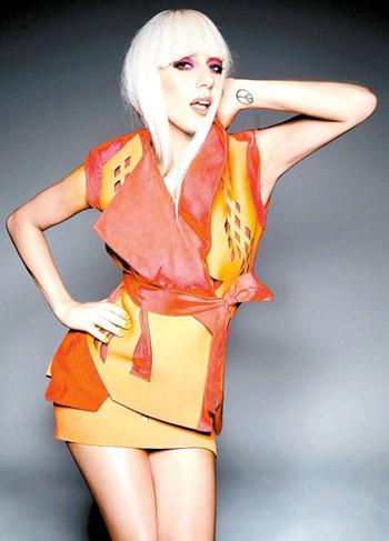 Lady Gaga in noul ei videoclip,