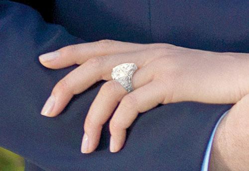 Charlene Wittstock ring