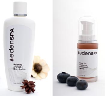 Produse cosmetice marca Eden Spa