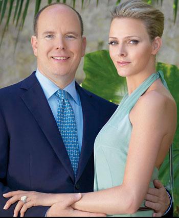 Albert de Monaco, Charlene Wittstock
