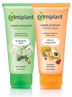 Elmiplant – creme de maini din extracte naturale