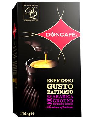 Cafeaua Doncafé Espresso Gusto Rafinato