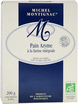 Paine nedospita (azima) din faina integrala de la Michel Montignac